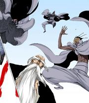 Äs Nödt, NaNaNa y un Stern Ritter ataca a Yamamoto