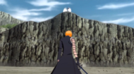 Ichigo confronts evolved Aizen episode 14 SR