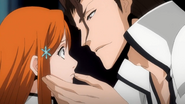 O203 Sosuke pociesza Orihime