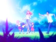 O8 Masaki, Isshin, Ichigo, Karin i Yuzu w przeszłości