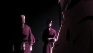 Inaba greets Izuru and Nanao