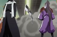 Renji Abarai and Zabimaru vs. Byakuya Kuchiki and Senbonzakura