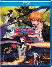Bleach The Hell Verse Blu-Ray Cover