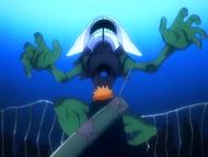 O10 Ichigo pokonuje Demi-Hollowa