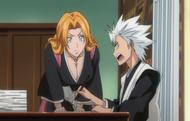 O168 Matsumoto wypytuje Toshiro o nowego kapitana
