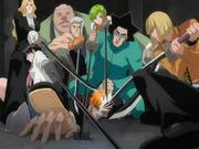 Vizard menghentikan Hollow Ichigo