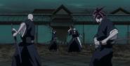 Ichigo Kurosaki & Rukia Kuchiki vs, Reigai-Ikkaku Madarame & Reigai-Renji Abarai