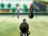 O7 Urahara znajduje Ichigo i Kona