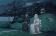 Rukia consoles her Zanpakuto spirit