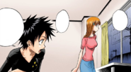 24Orihime and Tatsuki notice