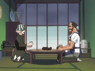 O66 Kisuke i Tessai spędzają spokojny wieczór