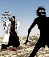 Yachiru Unohana vs joven Zaraki