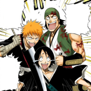 93Ichigo and Ganju hold