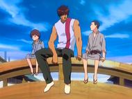 O22 Shibata i Sado rozmawiają z Horiuchim