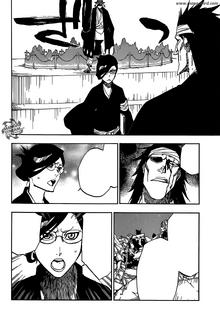 613 Nanao discute con Zaraki