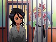 O18 Renji odwiedza Rukię w jej celi