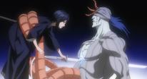 Rukia empala a Gunjyo