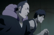 Shuhei and Omaeda come up with a plan whilst fleeing