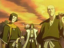 Kenpachi and Ikkaku 11th Division Squad