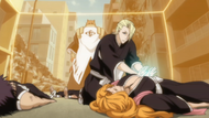 Kira heals the injured