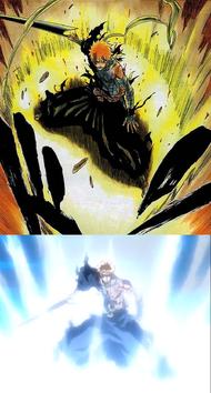 Porównanie Reiatsu Ichigo