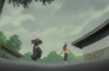 232Ichigo and Yoruichi arrive