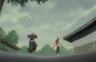 232Ichigo and Yoruichi arrive