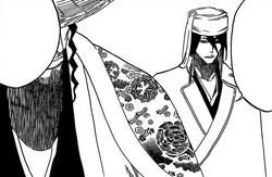 Byakuya habla con Syunsui
