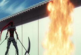 375px-Kazeshini watches Toju engulfed in flames