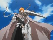 Ichigo menyelamatkan Rukia