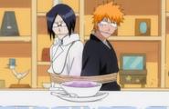 234Ichigo and Uryu are served