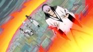 O275 Ichimaru, Kaname i Sosuke relaksują się wewnątrz Jokaku Enjo