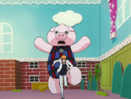 Ep348 Maskotka próbuje złapać Ichigo