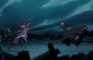 244Ichigo and Senbonzakura leap