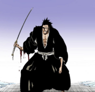 635Kenpachi's arm is damaged