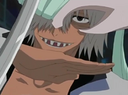 Di Roy detiene el ataque de Rukia