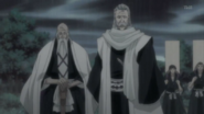 Ginrei and yamamoto prepare to seal away koga