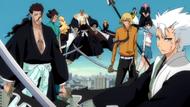 O293 Siły Gotei 13 i Visoredów wspierają Ichigo