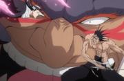 Byakuya & Kenpachi menyerang Yammy