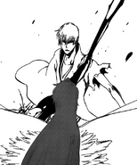 Gin is defeated by Aizen