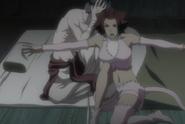 Haineko protects Narunosuke