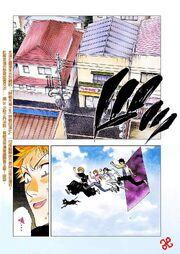 Ichigo y sus amigos salen del Dangai