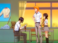 O15 Ichigo i Rukia proszą Uryu o naprawienie Kona