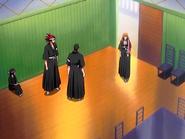 O24 Matsumoto dołącza do Hinamori, Tetsuzaemona i Renjiego