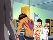 O4 Isshin i Yuzu badają ranę Sado
