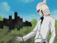 Ulquiorra using garganta