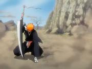 Ichigo con Zangetsu
