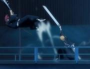 Ichigo menebas Renji