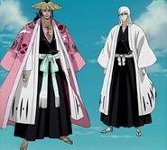 Shunsui Kyōraku & Jūshirō Ukitake