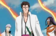 Aizen, Gin, et Tosen librent du Jukaku Enzo